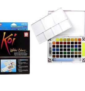 Sakura Koi akvarellfesték-készlet 48 db-os