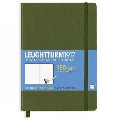 Leuchtturm Master Sketchbook, A4, army