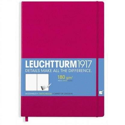 Leuchtturm Master Sketchbook, A4, berry