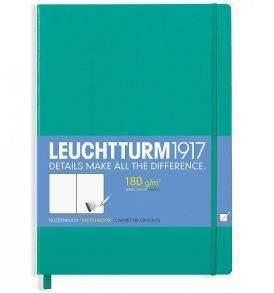 Leuchtturm Master Sketchbook, A4, emerald