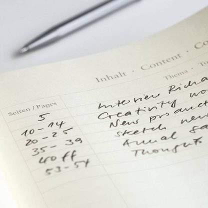 Leuchtturm Medium Notebook, belső oldal
