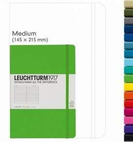 Leuchtturm Medium Notebook, pontozott lapokkal