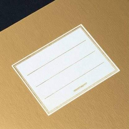 Leuchtturm Metallic Notebook, matrica