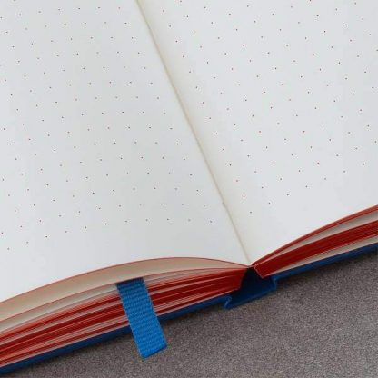 Leuchtturm Red Dots notebook oldalai