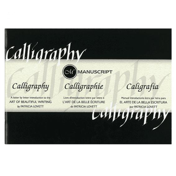 Manuscript kalligráfia oktató füzet