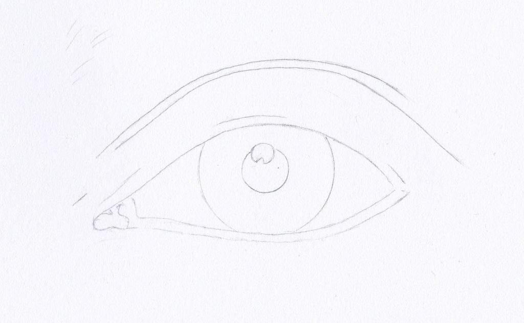 Szem rajzolás