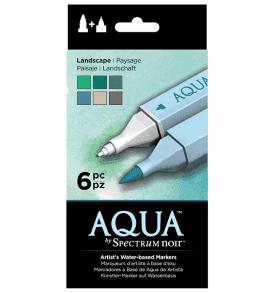 Spectrum Aqua marker - Tájkép színek