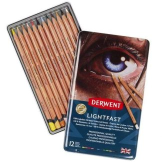 Derwent Lightfast 12 db-os színes ceruza készlet
