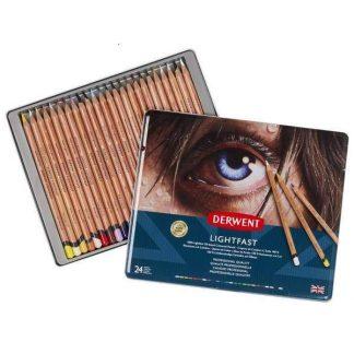 Derwent Lightfast 24 db-os színes ceruza készlet