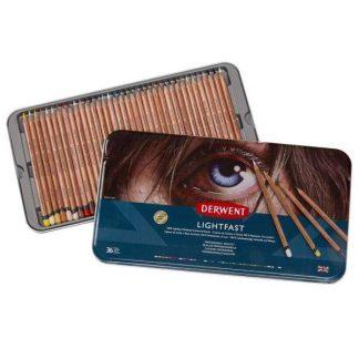 Derwent Lightfast 36 db-os színes ceruza készlet