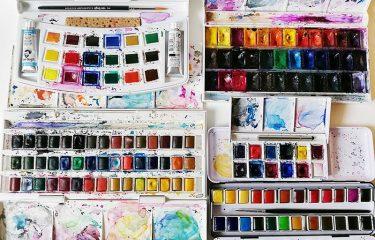 Akvarell festékek összehasonlítása