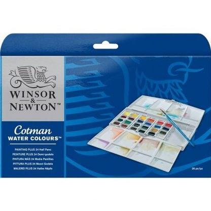 Winsor&Newton Cotman 26 db-os akvarellfesték készlet