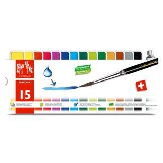 Caran d'Ache Fancolor 15 db-os gouache festék