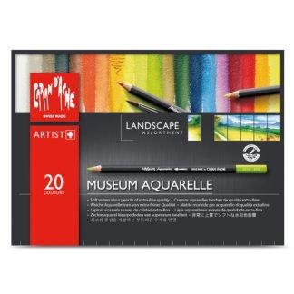 Caran d'Ache Museum akvarellceruza 20 db-os készlet