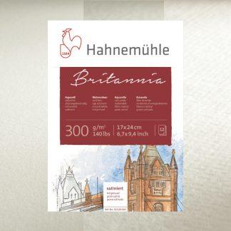 Hahnemühle Britannia akvarellpapír, több méretben