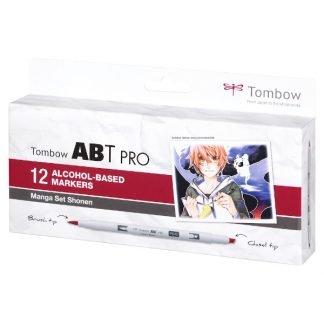 Tombow ABT PRO 12 db-os manga színek