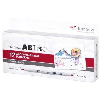 Tombow ABT PRO 12 db-os pasztell színek
