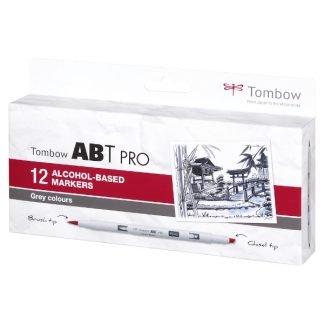 Tombow ABT PRO 12 db-os szürke árnyalatok