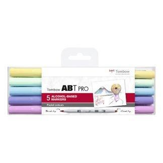 Tombow ABT PRO 5 db-os pasztell színek