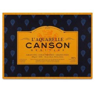 Canson Héritage 100% pamut akvarellkarton, hidegen préselt