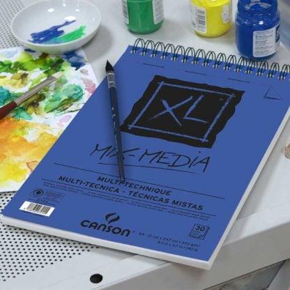 Canson XL mix-media spirálos papírtömb