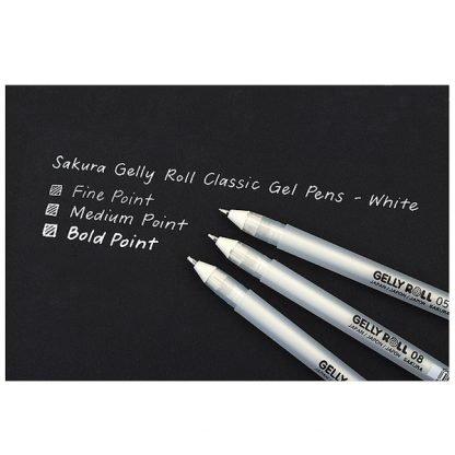 Sakura Gelly Roll zselés toll mérettáblázat