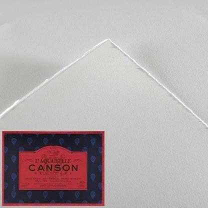 Canson Héritage 100% pamut akvarellkarton, melegen préselt felület