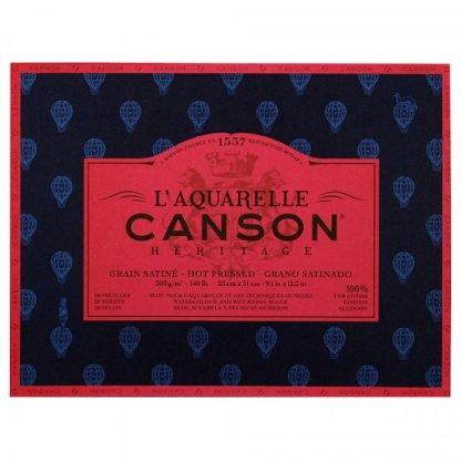 Canson Héritage 100% pamut akvarellkarton, melegen préselt