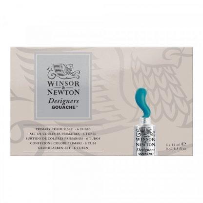 Winsor & Newton Designer's Gouache festékkészlet, 6db