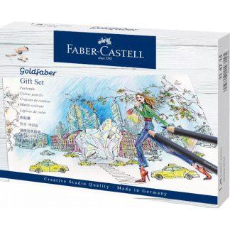 FAber-Castell Goldfaber színesceruza ajándék szett, 23 db