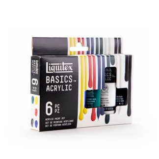 Liquitex Basics akrilfestek 6x22 ml