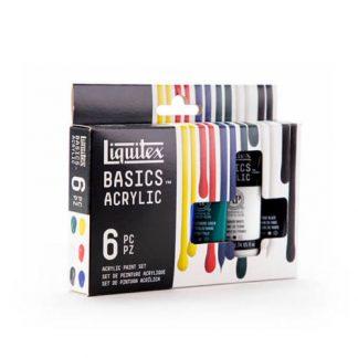 Liquitex Basics akrilfestek 6x22 ml