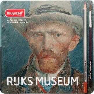 Bruynzeel Rijks museum akvarellceruza készlet, 24 db