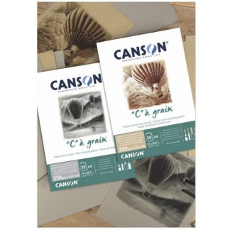 """Canson """"C"""" á grain színezett papírtömb"""