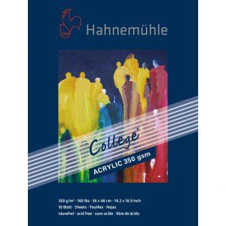 Hahnemühle College akril festőtömb