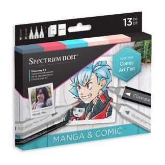 Spectrum Noir Discovery készlet, manga és képregény