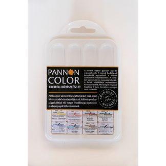 Pannoncolor akvarellfesték, 8 db-os készlet