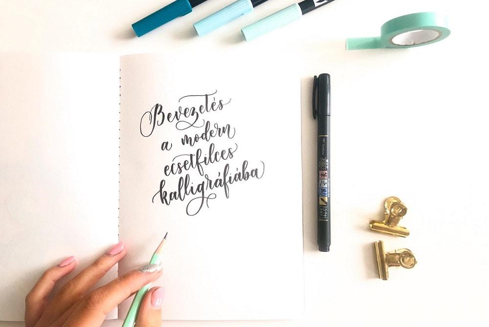 Ecsetfilces kalligráfia workshop