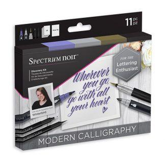 Spectrum Noir Discovery készlet, kalligráfia