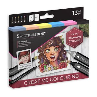 Spectrum Noir Discovery készlet, kreatív színezés