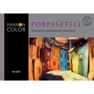 Pannoncolor porpasztell, 64 db-os, feles
