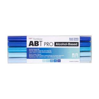 Tombow ABT Pro, 5 db-os készlet, kék árnyalatok