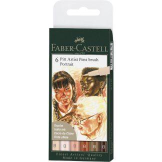 Faber-Castell ecsetfilc, portré színek