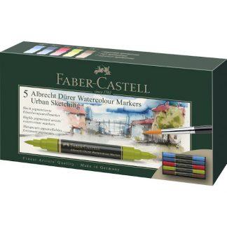 Faber-Castell Albrecht Dürer Akvarell Marker, Urban sketching