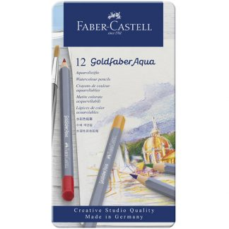 Faber-Castell Goldfaber Aqua akvarellceruza, 12 db-os készlet