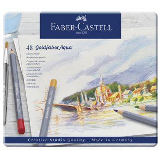 Faber-Castell Goldfaber Aqua, 48 db-os
