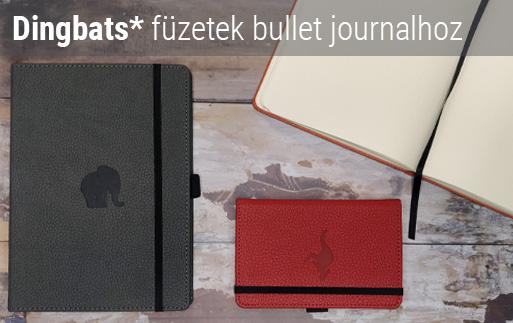Dingbats füzetek bullet journalhoz