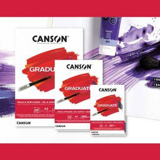 Canson Graduate olaj-és akriltömb