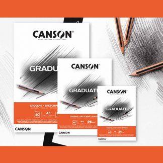 Canson Graduate vázlattömb