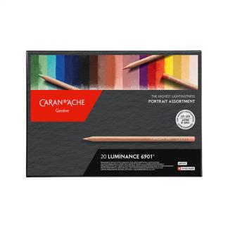 Caran d'Ache Luminance, portré színek